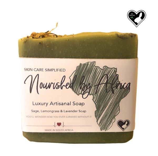 Sage, Lemongrass & Lavender Soap