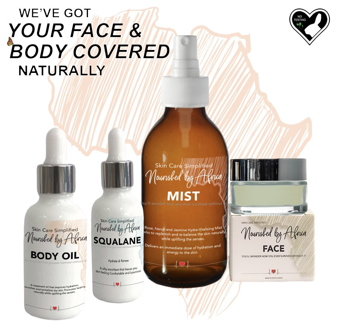Natural Skincare Collection