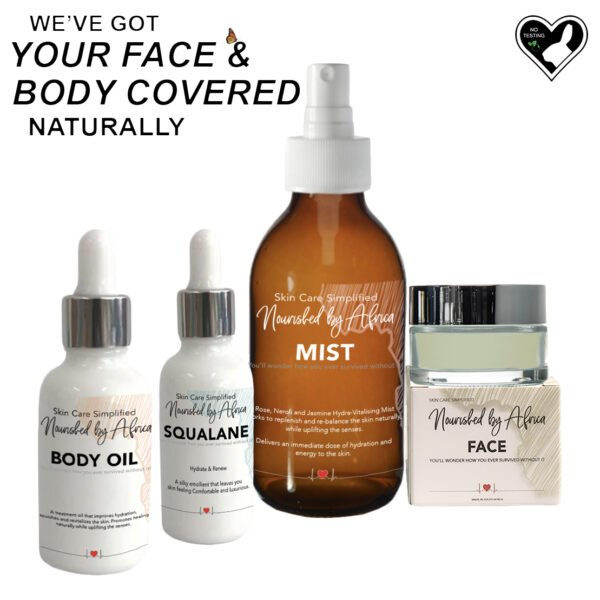 Got your faec and body covered naturally