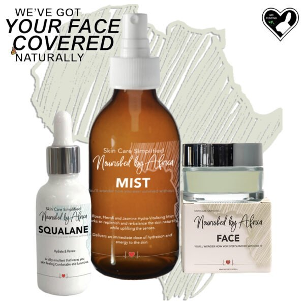 Got your Face Covered Naturally